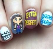 pitch perfect nail art hannah
