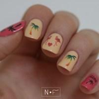 Hawaii nail tattoos nail art by NerdyFleurty - Nailpolis ...