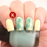 cucumber nails green sand dollars
