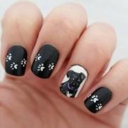 puppy dog nails nail art funky