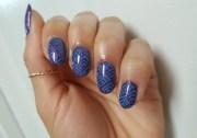 glitter berry nail art alisha