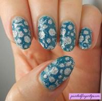 Holo glitter bubbles nail art by Kerry_Fingertips