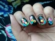 fabric nail art sohini sengupta