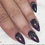 garnet closeup nail art kristen