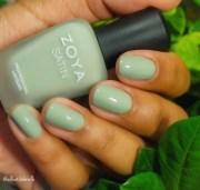 """zoya's """"sage"""" nail art gabrielle"""