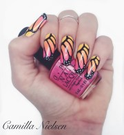 butterfly wings nail art camilla