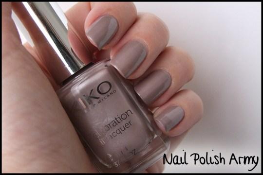 Kiko-celebration-nail-lacquer-colours-in-the-world-smalto-426-satin-taupe-nail-polish