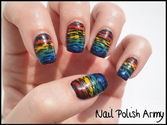 Sugar-spun-nail-art-rainbow-arcobaleno-fili