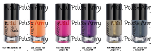 Catrice Discontinued Nail Polish from August 2013
