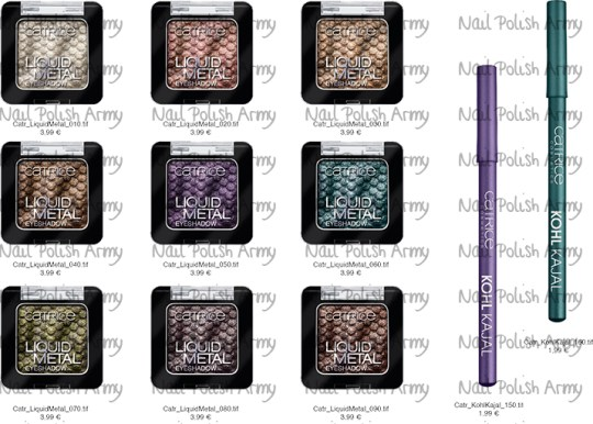 Catrice new product range (fall/winter) from August 2013