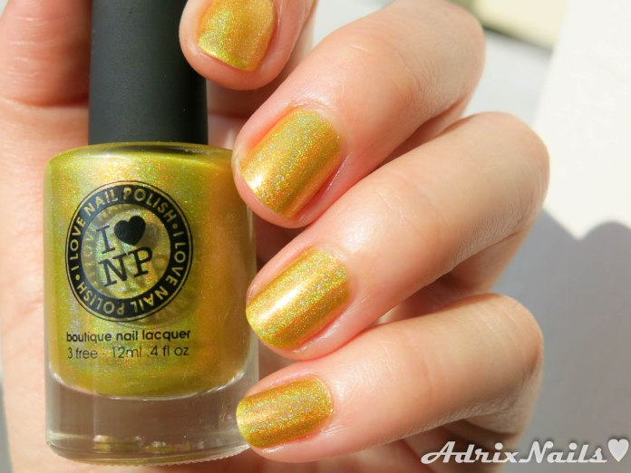 I Love Nail Polish - Funshine Smoothie-3