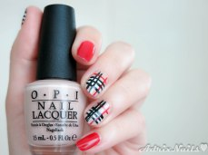 uñas cortas, uñas Burberry, estampado Burberry, blogs de nail art en español, blog de belleza en español, blogs de uñas en español, paso a paso, uñas fáciles, uñas geométricas, geometric nails, uñas con cuadrícula, degradado con esponja, reseñas de esmaltes, review de esmaltes, nail polish review, reseñas, shimmer, diy nails, uñas paso a paso, esmaltes, uñas, swatches, nails, nail art, nail polish, colores, review, adrix nails, blog mexicano dedicado al nail art, blogueras mexicanas, mexican bloggers, blogs de méxico, nailpolishlove,