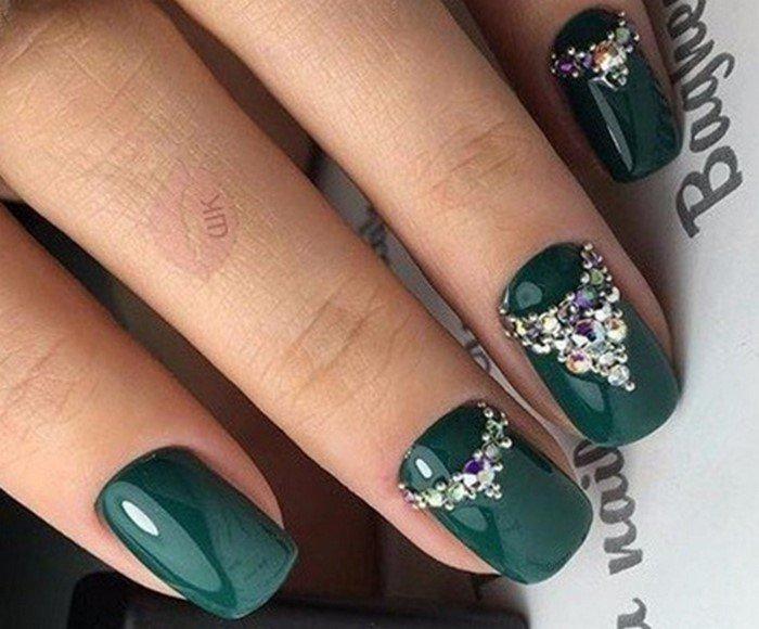 стразы на ногтях дизайн 7