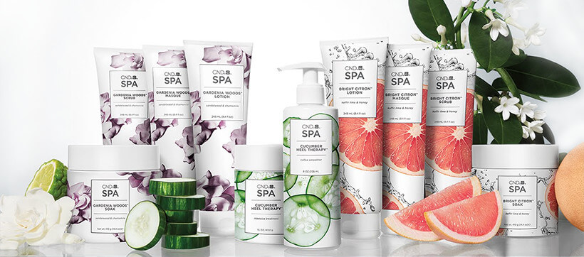Hot Manicure CND Technology