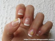 french manicure with soak- gel
