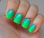 green nails nails10
