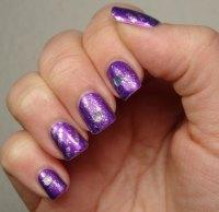 Purple Acrylic Nails | www.imgkid.com - The Image Kid Has It!