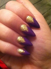purple nails nails10