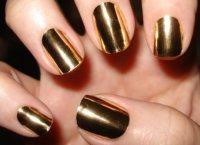 Gold Nails   nails10