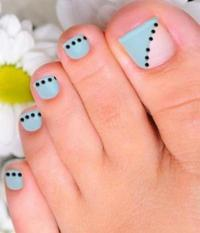The gallery for --> Simple Toe Nail Art