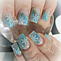 Winter Acrylic Nails Tumblr