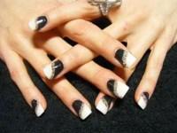 Black and White Nails | nails10