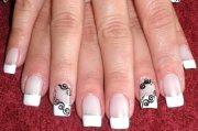 french nails nails10