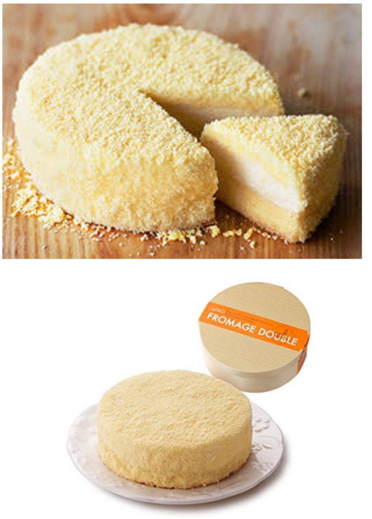 LeTAOのドゥーブルフロマージュケーキ