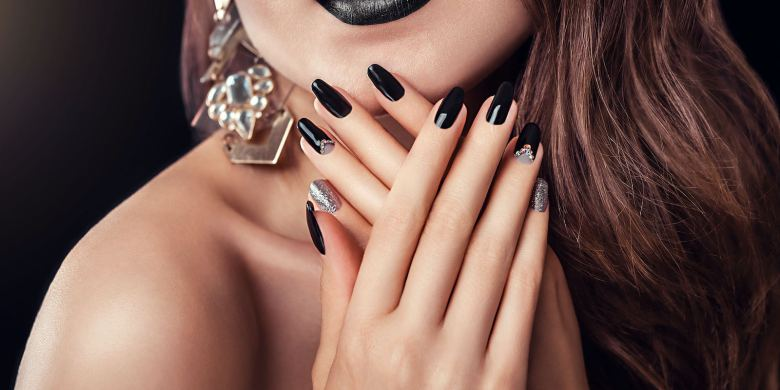 Black Nail Designs Inspiration