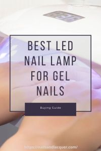 Pin Best LED Nail Lamp For Gel Nails For Later!