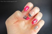 kpop nail art 2ne1 bom scream