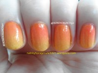 Sunset Ombre Nails | nailsbyhoneycrunch321