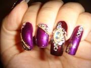 9 indian wedding nail art