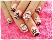 jolin inspired crown nails