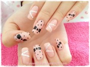 minnie mouse nails obsession
