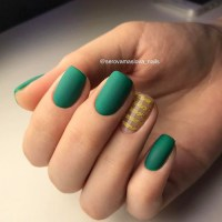 Green Nails:Olive Green,Mint,Lime Shades