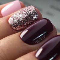 Best Wine Colored Nails of 2018 | NAILSPIRATION