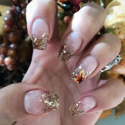 cute and easy thanksgiving nails