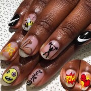 hot sporty nails gym workouts