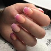 fall ombre nails ll