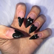 halloween nail design 2019