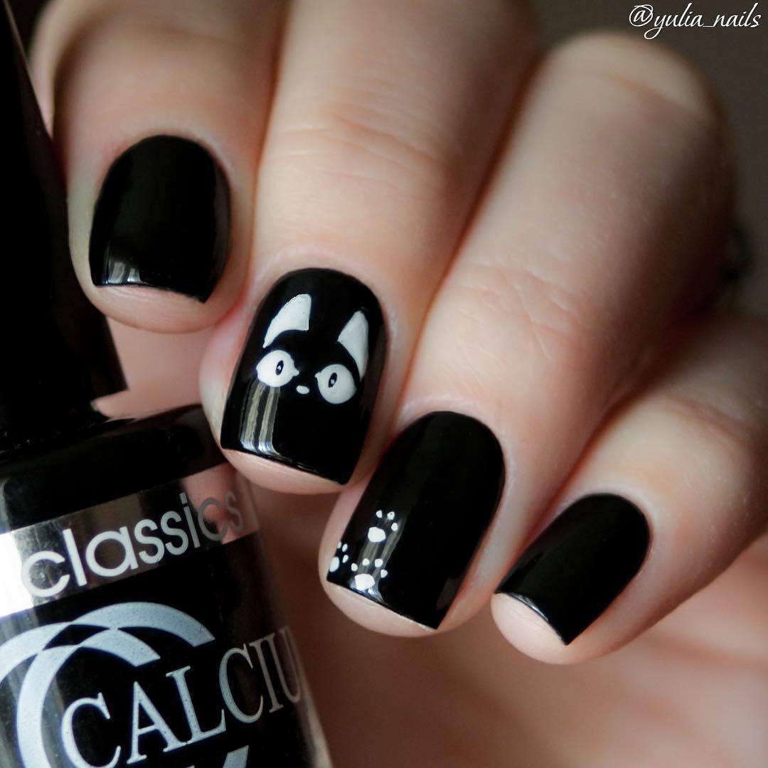 cat nail art types
