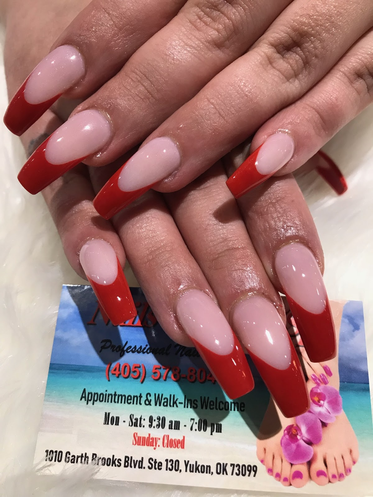 Nail Salon Yukon Ok : salon, yukon, Nails, Salon, Yukon,, Oklahoma, 73099