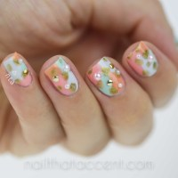 Modern Abstract Nails for #omd2nails | Nail That Accent