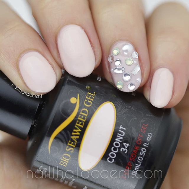 Bio Seaweed Gel Coconut Nail That Accent