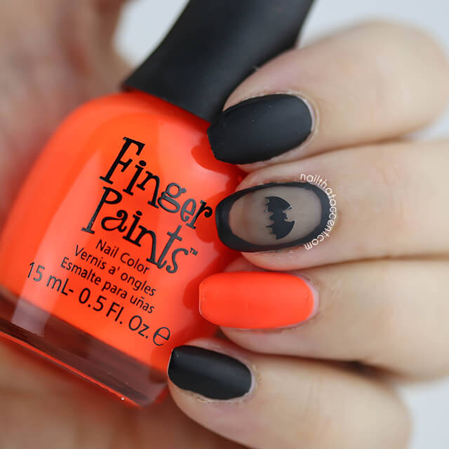More Halloween Nail Art – nail that accent