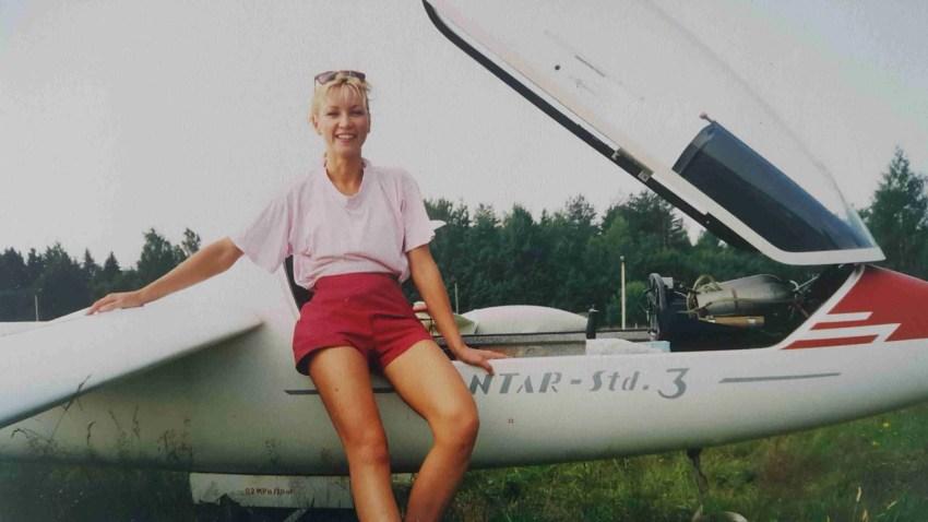 Unistuste elu. Purilend. Heivi, Ridali lennuväljal 1995