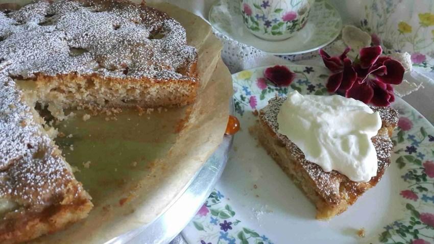 Prantsuse õunakook magusad koogid pirukad ja küpsetised