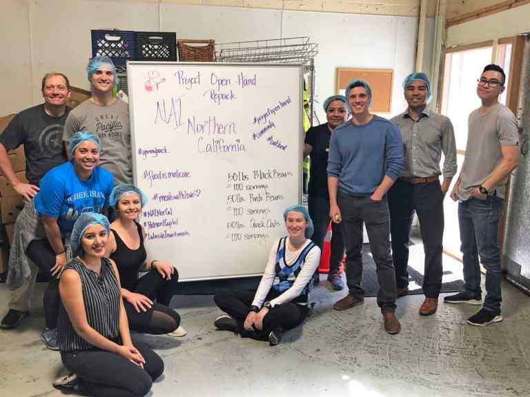 NAI Northern California Project Open Hand Volunteering - Oakland