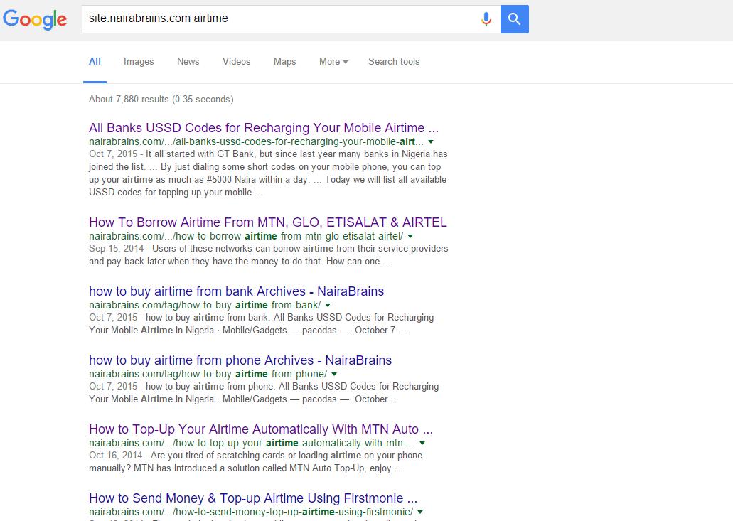 site nairabrains.com airtime Google Search